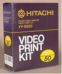 Hitachi VY-SS50 Paper & Ink